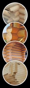 варианты дерева для строительства домов