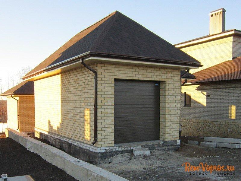 Построить пол гараже